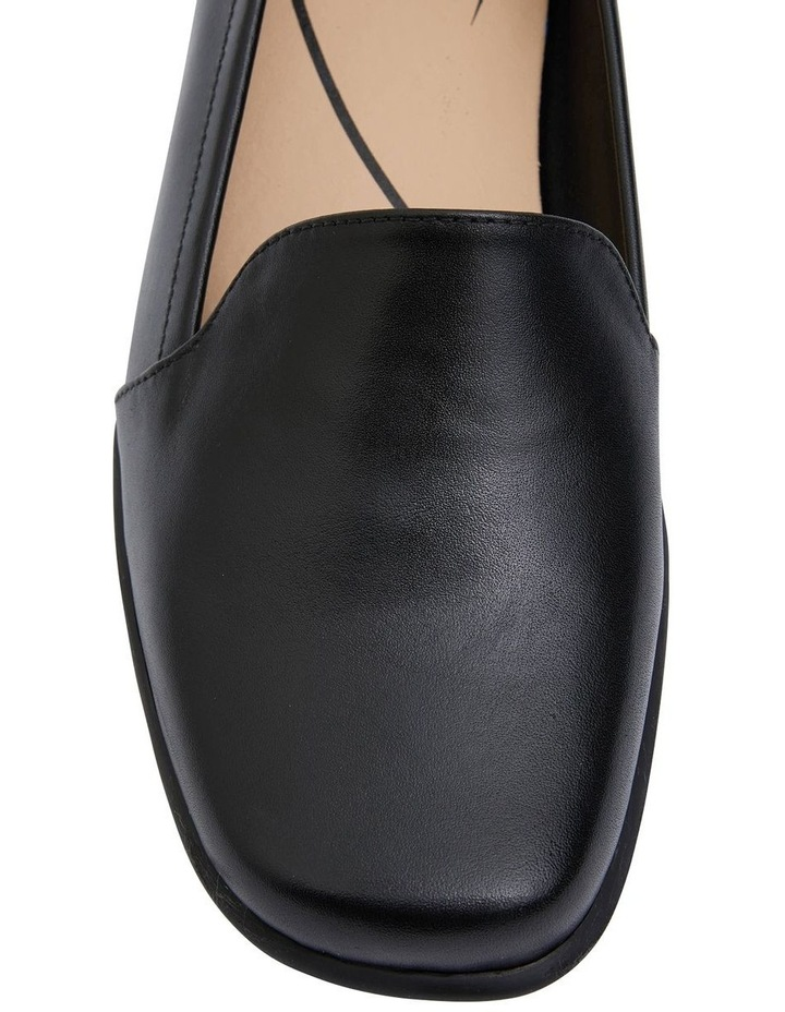 Knox Black Glove Flat Shoes image 7