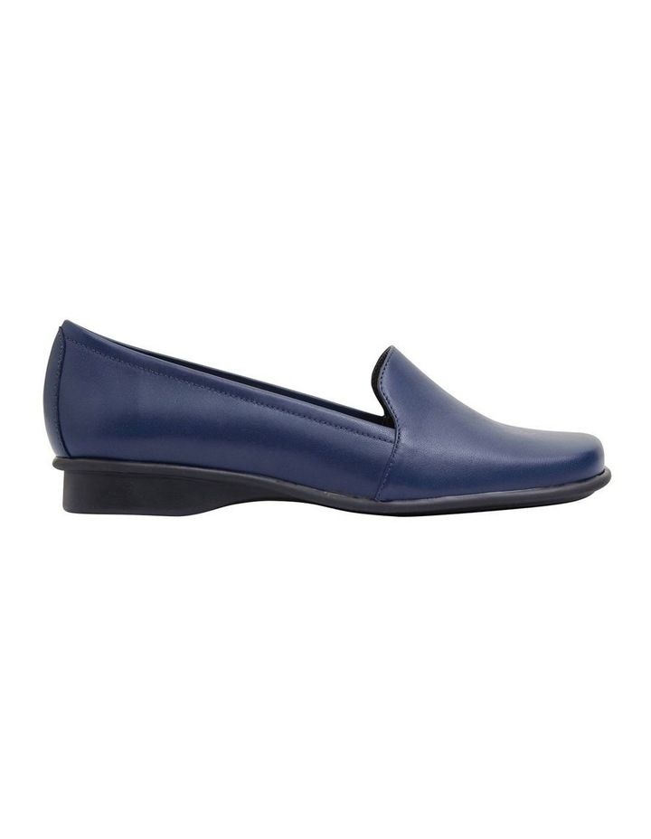 Knox Navy Glove Flat Shoes image 1