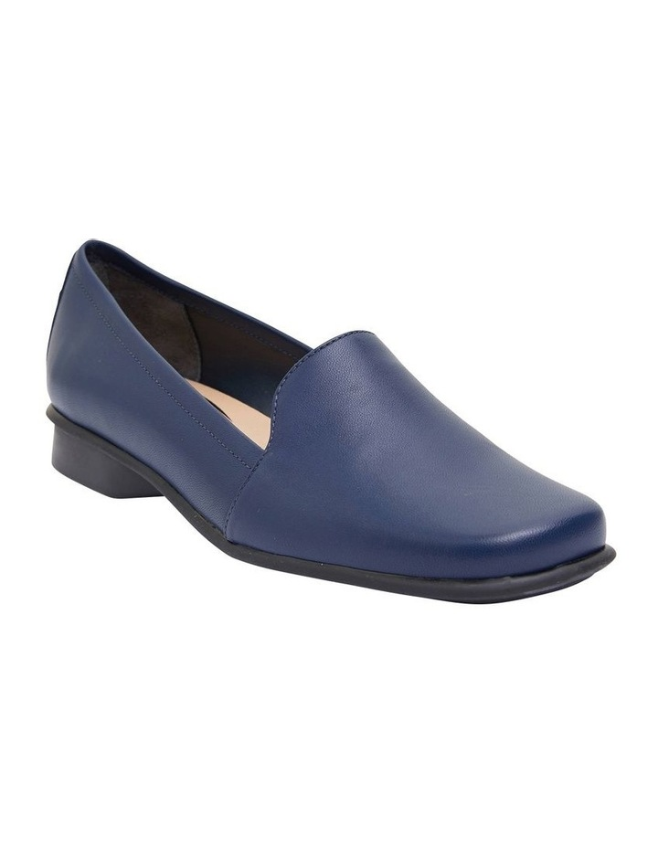 Knox Navy Glove Flat Shoes image 2