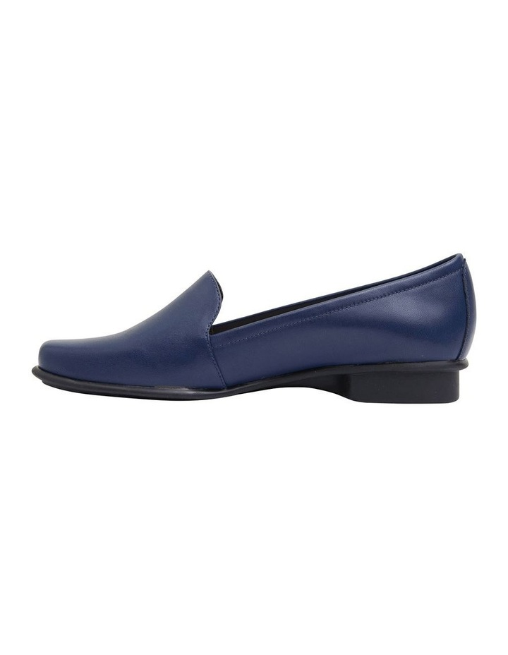 Knox Navy Glove Flat Shoes image 3