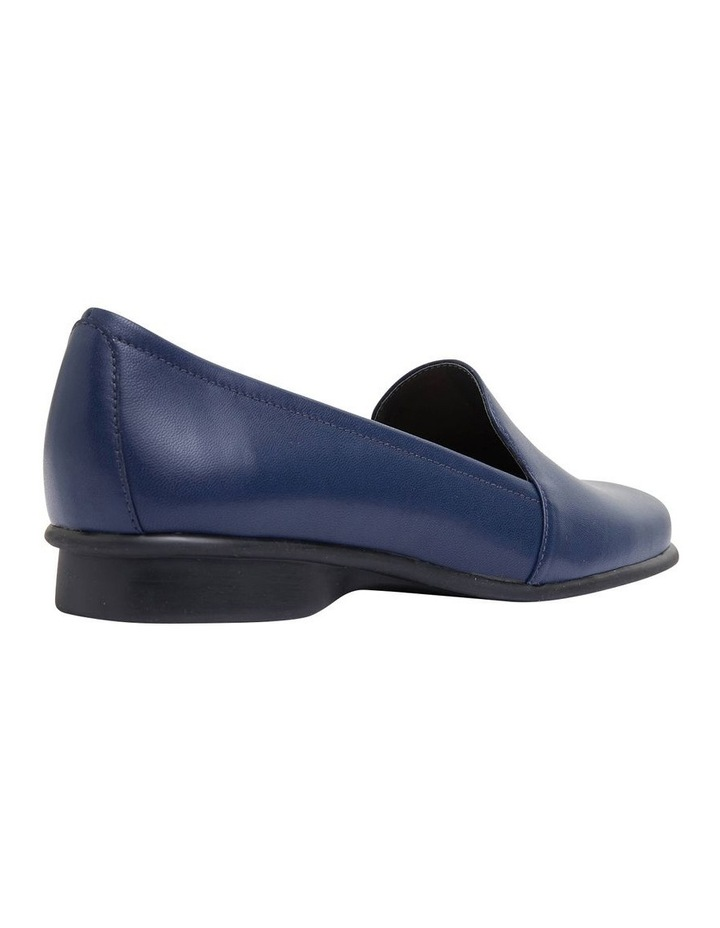 Knox Navy Glove Flat Shoes image 4