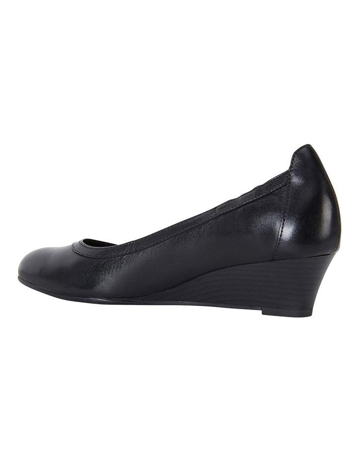 Elton Black Glove Heeled Shoes image 5
