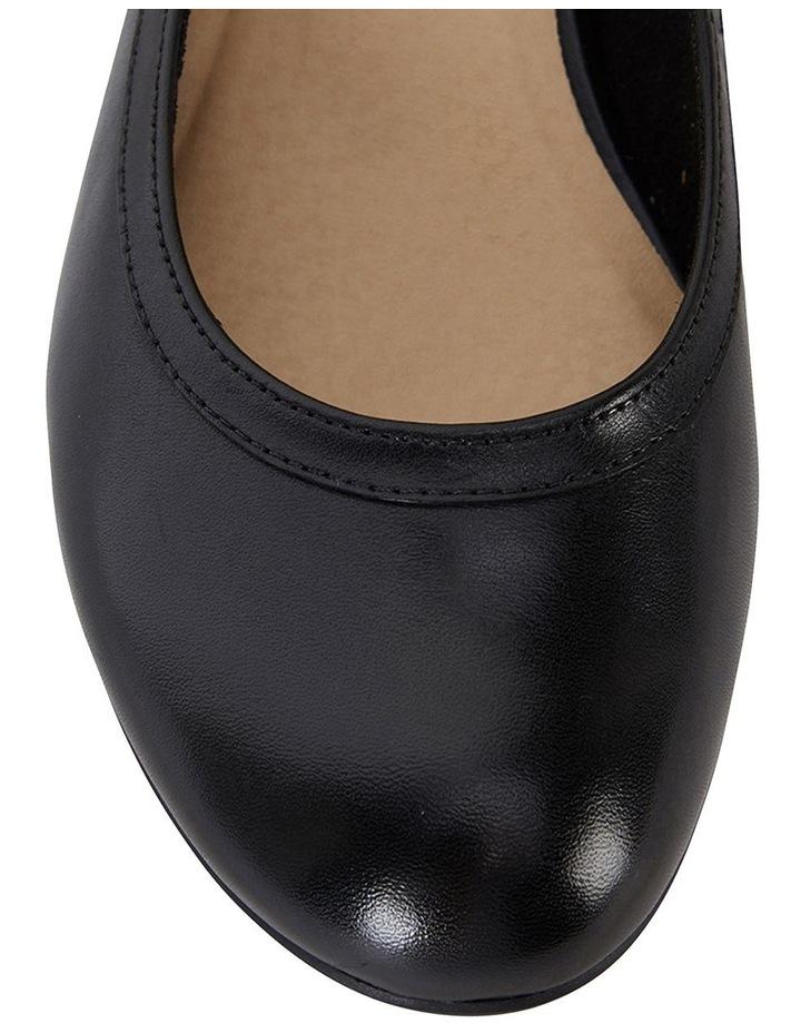 Elton Black Glove Heeled Shoes image 7