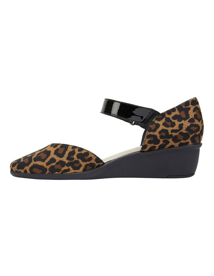Patriot Animal Fabric Heeled Shoes image 2