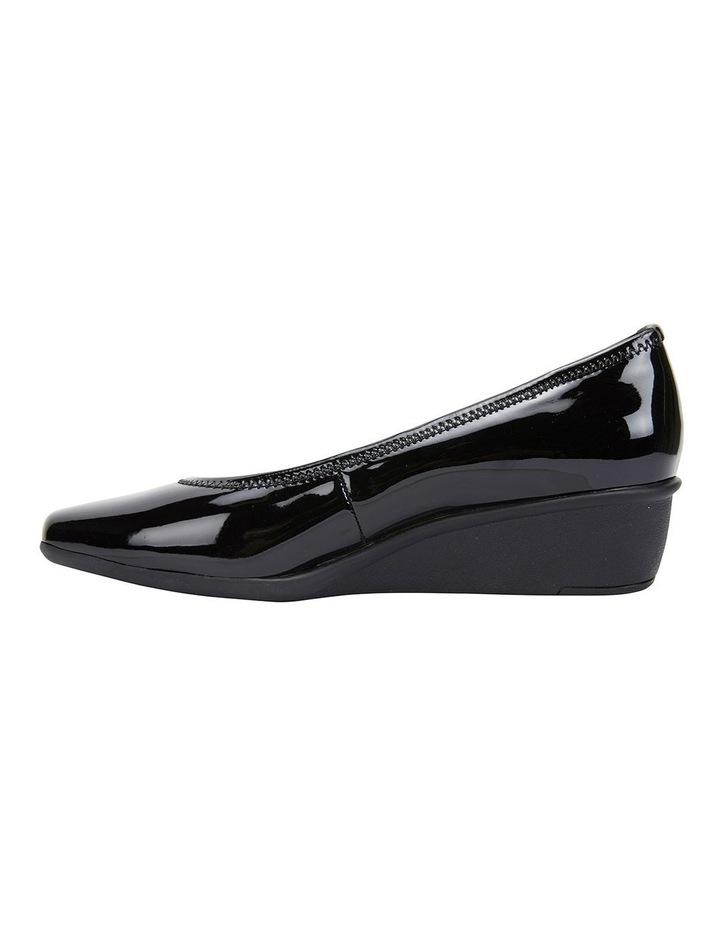 Prism Black Patent Heeled Shoes image 2