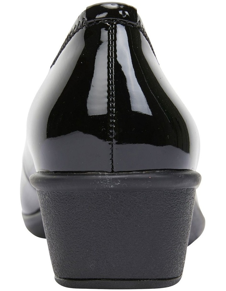 Prism Black Patent Heeled Shoes image 4