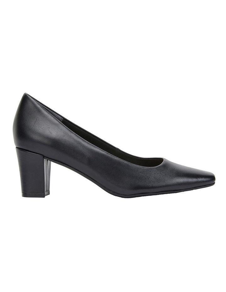 Nicole Black Glove Heeled Shoes image 1