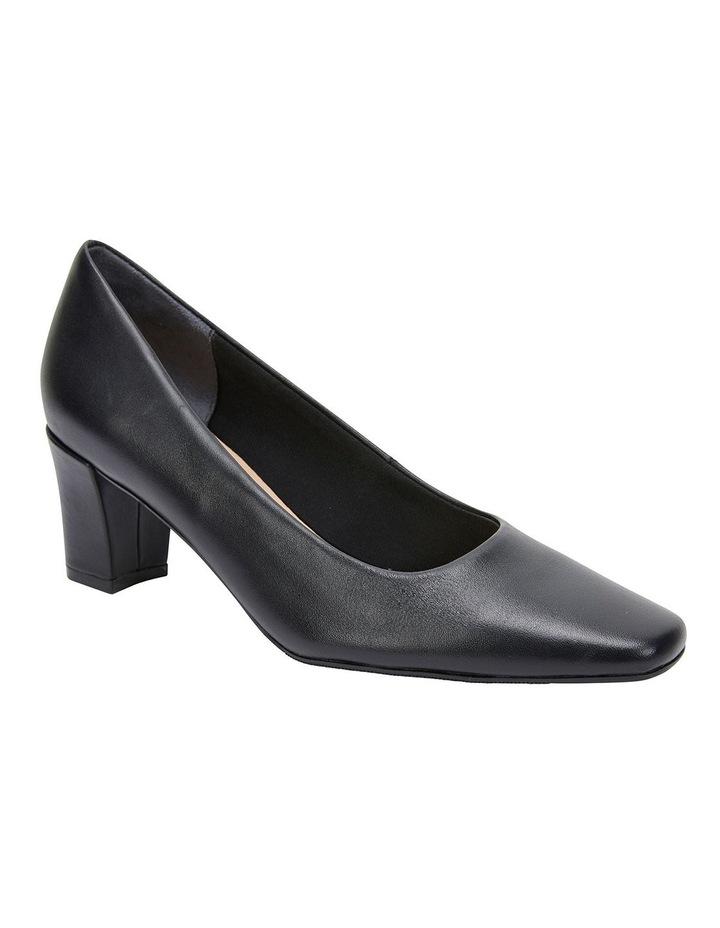 Nicole Black Glove Heeled Shoes image 2