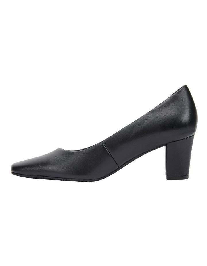 Nicole Black Glove Heeled Shoes image 3