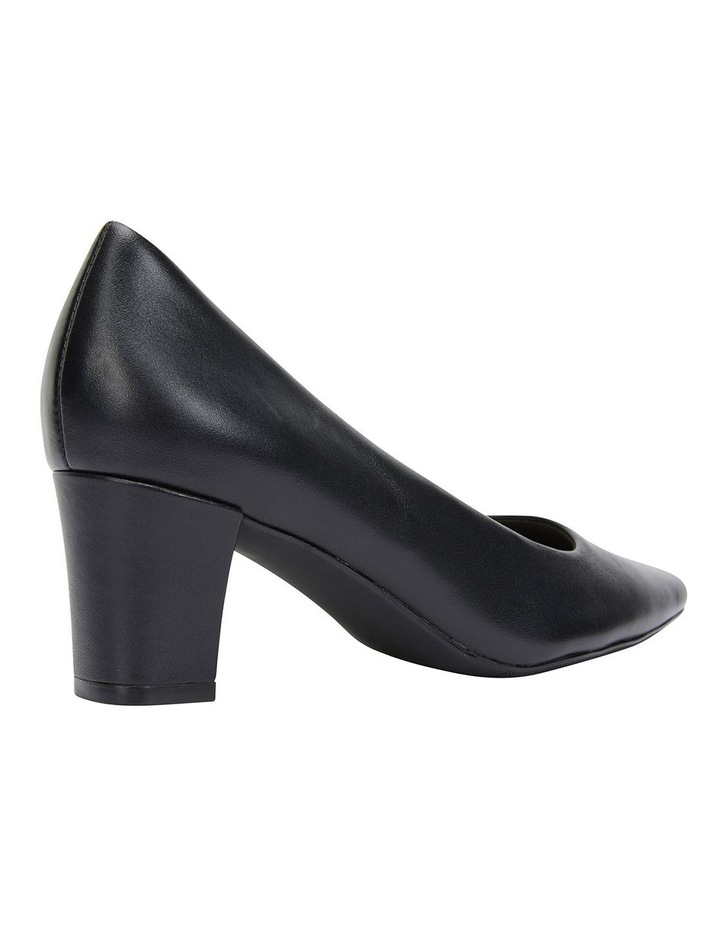 Nicole Black Glove Heeled Shoes image 4