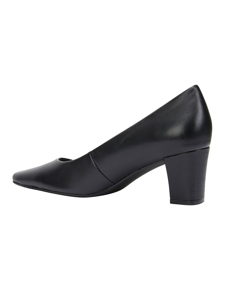 Nicole Black Glove Heeled Shoes image 5
