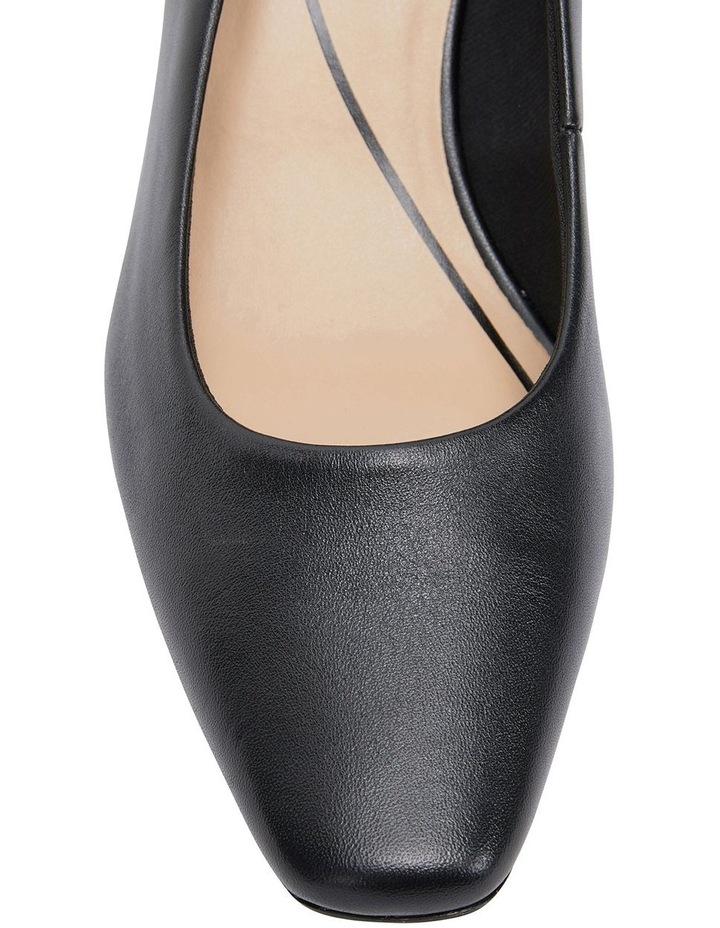 Nicole Black Glove Heeled Shoes image 7