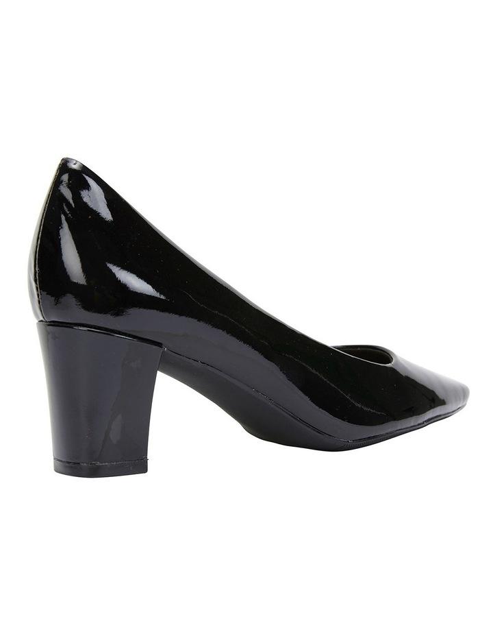 Nicole Black Patent Heeled Shoes image 4