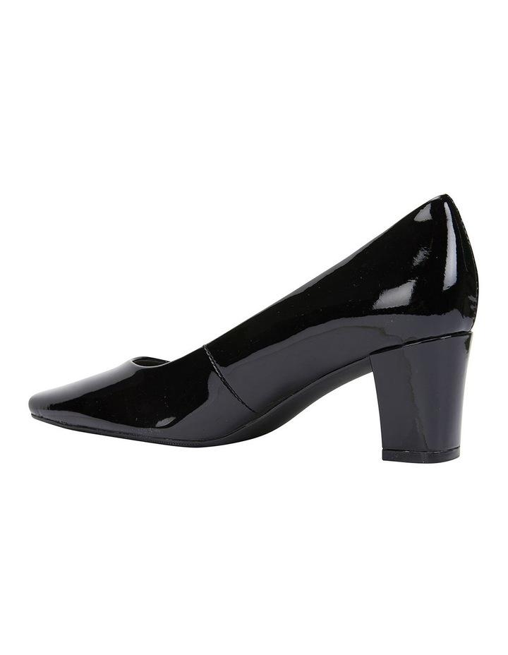 Nicole Black Patent Heeled Shoes image 5