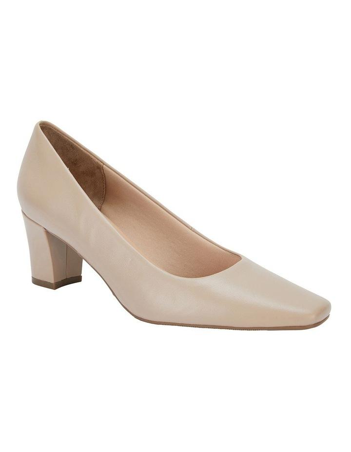 Nicole Nude Glove Heeled Shoes image 2