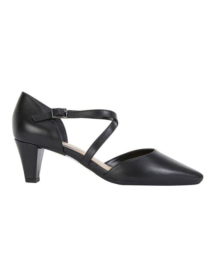 Adison Black Glove Heeled Shoes image 1