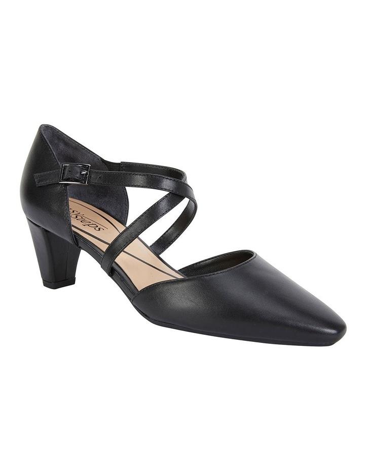 Adison Black Glove Heeled Shoes image 2