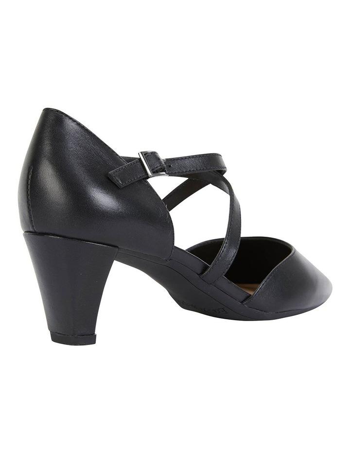 Adison Black Glove Heeled Shoes image 4