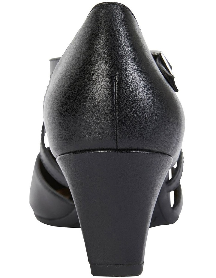 Adison Black Glove Heeled Shoes image 6