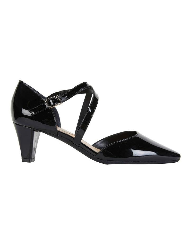 Adison Black Patent Heeled Shoes image 1