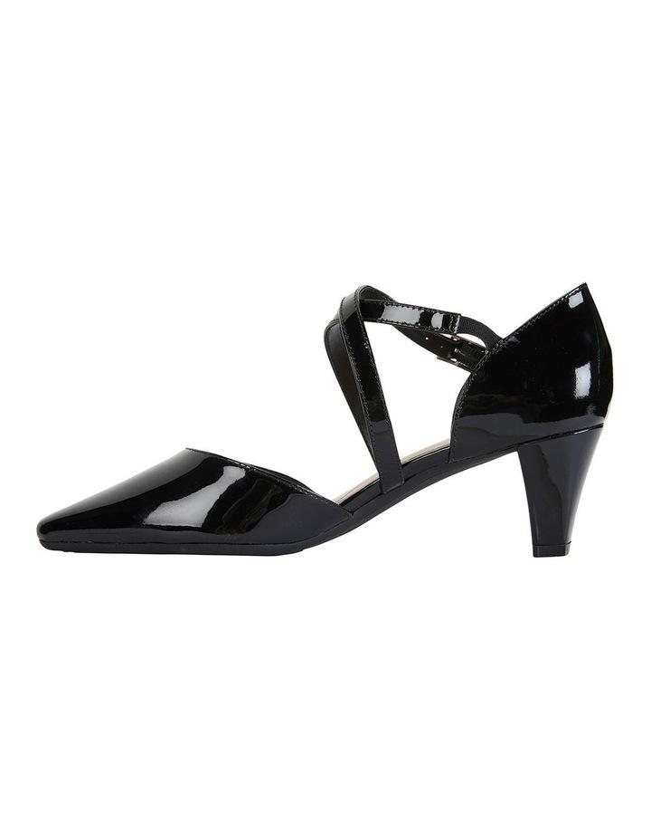 Adison Black Patent Heeled Shoes image 3