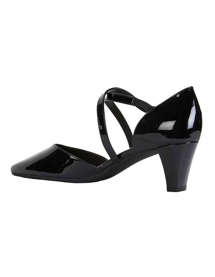Adison Black Patent Heeled Shoes image 5