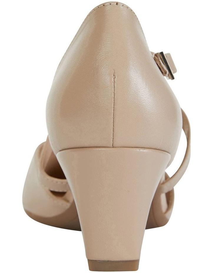Adison Nude Glove Heeled Shoes image 6