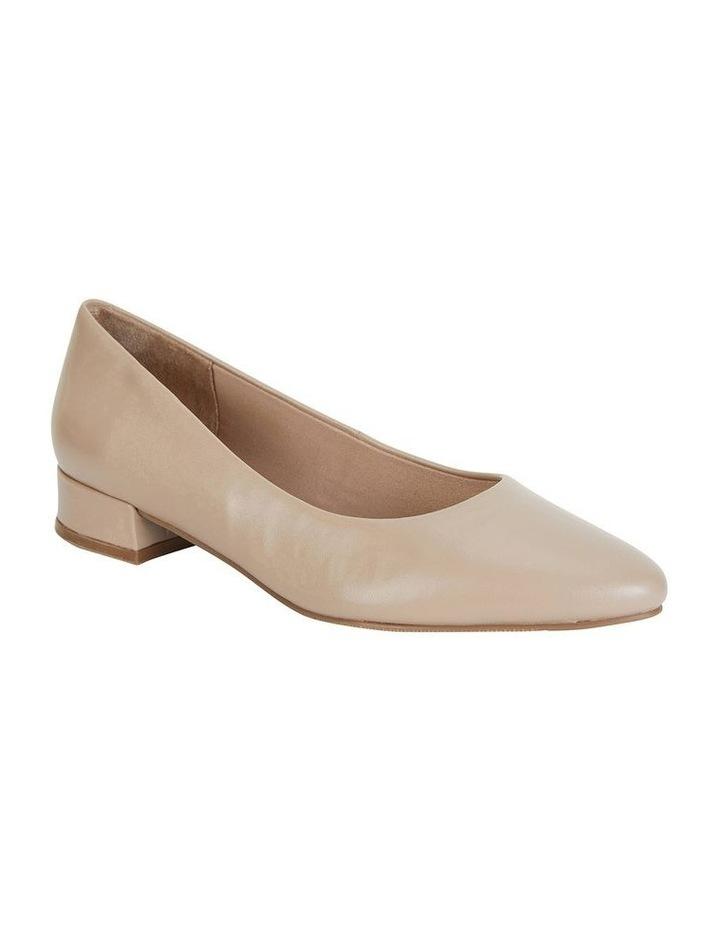 Janine Nude Glove Heeled Shoes image 2