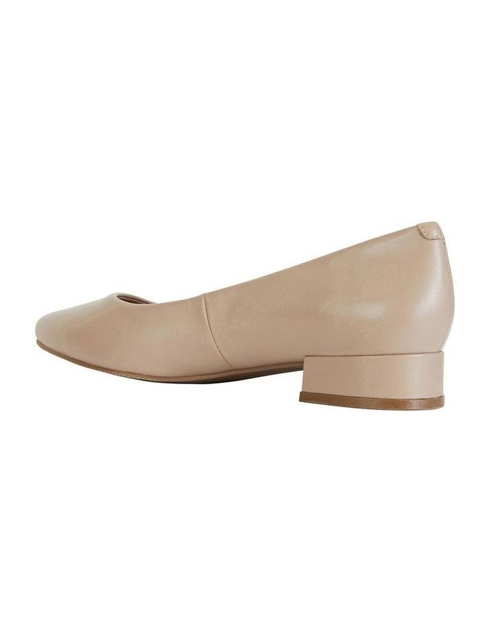 Janine Nude Glove Heeled Shoes image 5