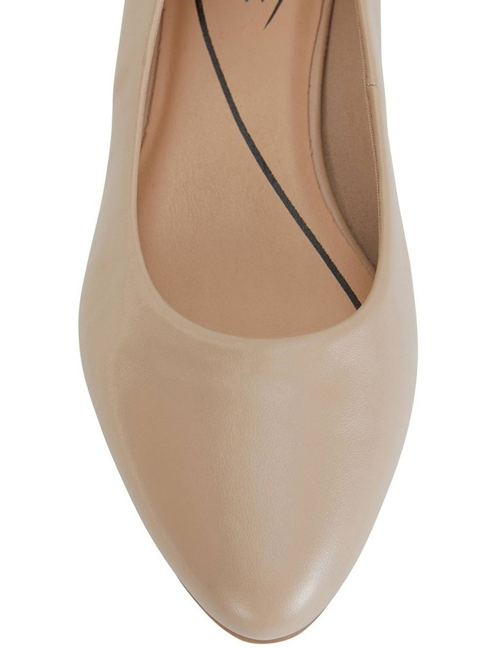 Janine Nude Glove Heeled Shoes image 7