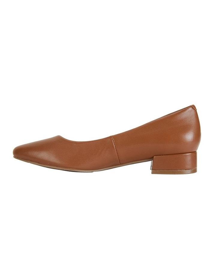 Janine Cognac Glove Heeled Shoes image 3