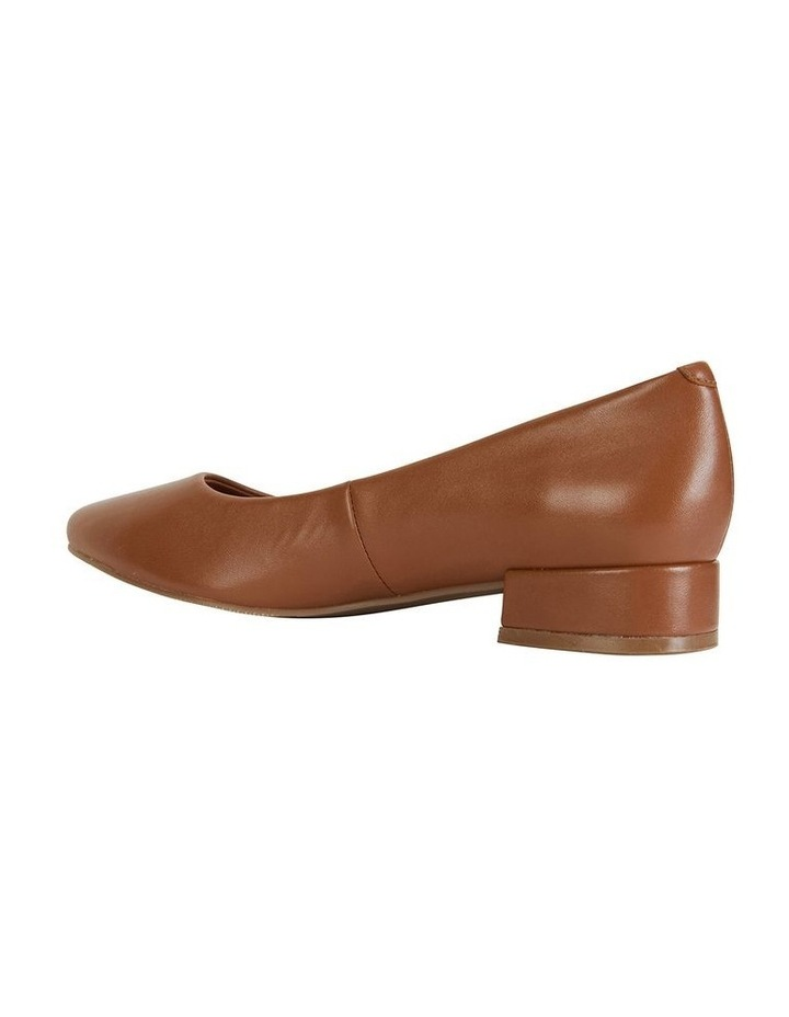 Janine Cognac Glove Heeled Shoes image 5