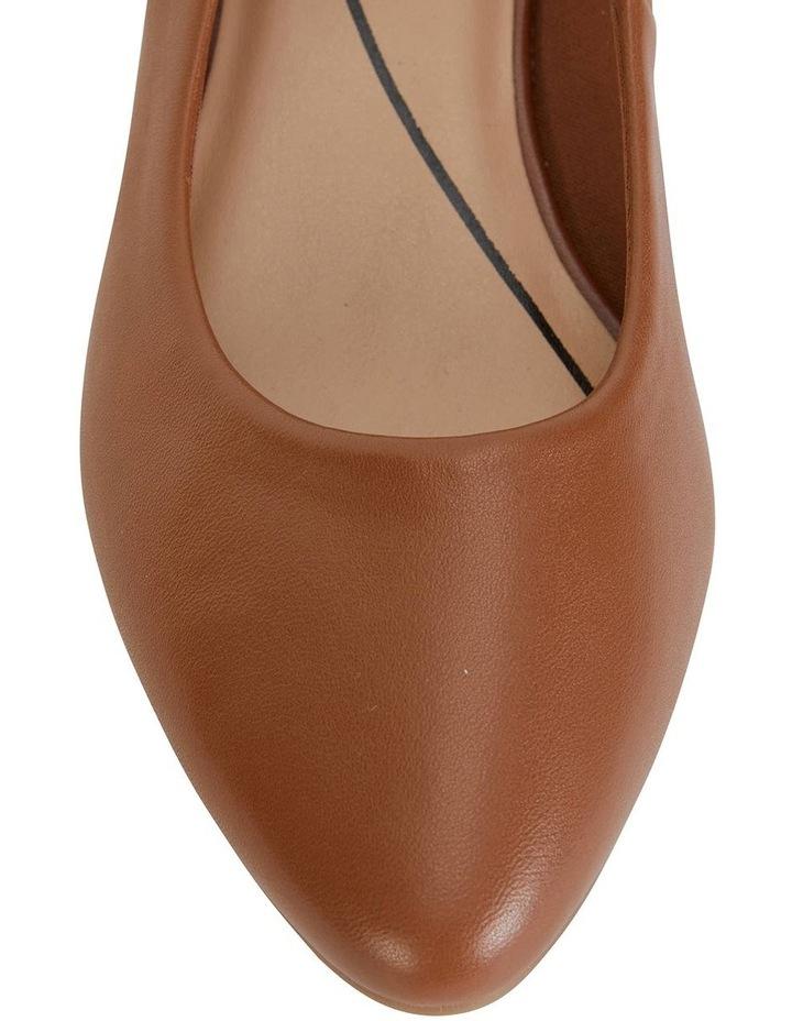 Janine Cognac Glove Heeled Shoes image 7
