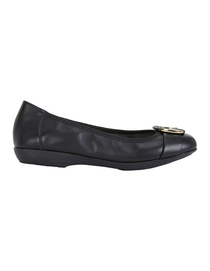 Nadine Black Glove Flat Shoes image 1
