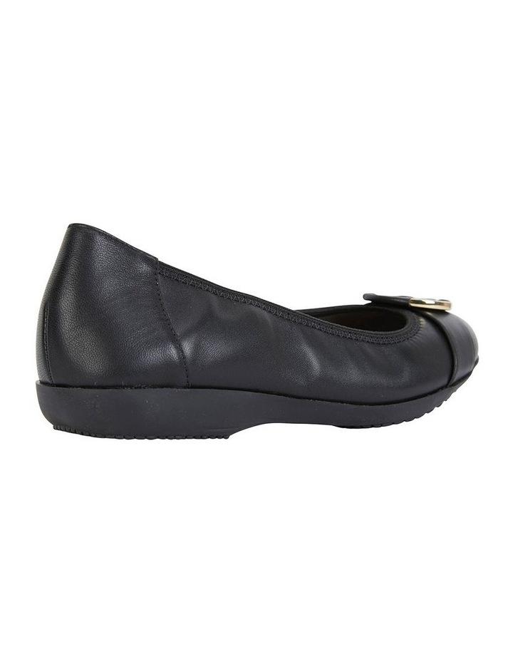 Nadine Black Glove Flat Shoes image 4