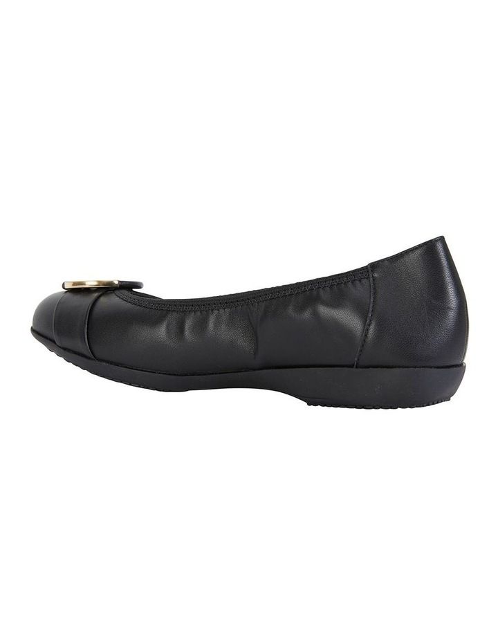 Nadine Black Glove Flat Shoes image 5