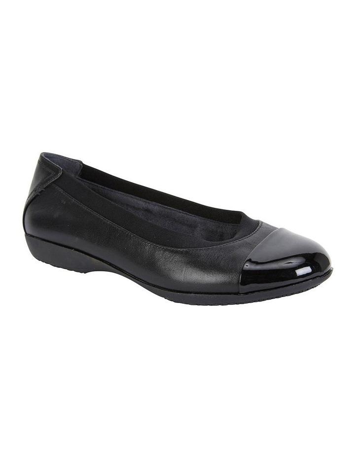 Nelson Black Glove Flat Shoes image 2
