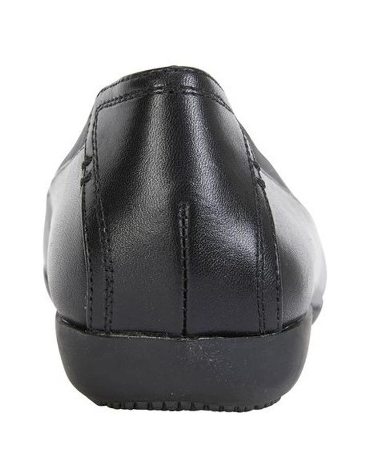 Nelson Black Glove Flat Shoes image 6