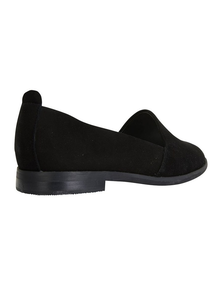 Kelly Black Suede Flat Shoes image 4