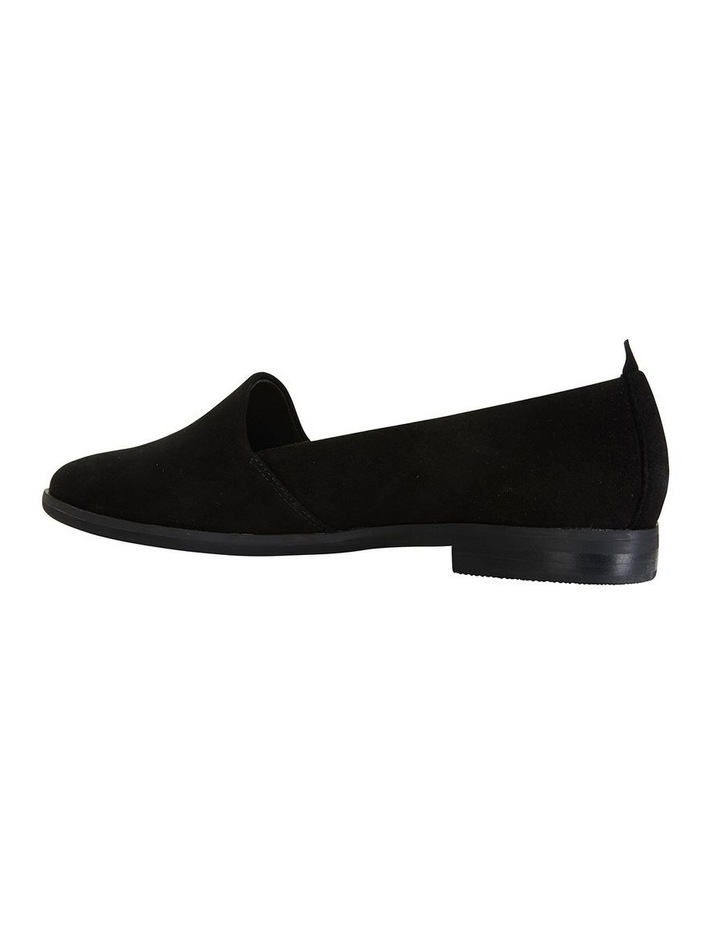 Kelly Black Suede Flat Shoes image 5