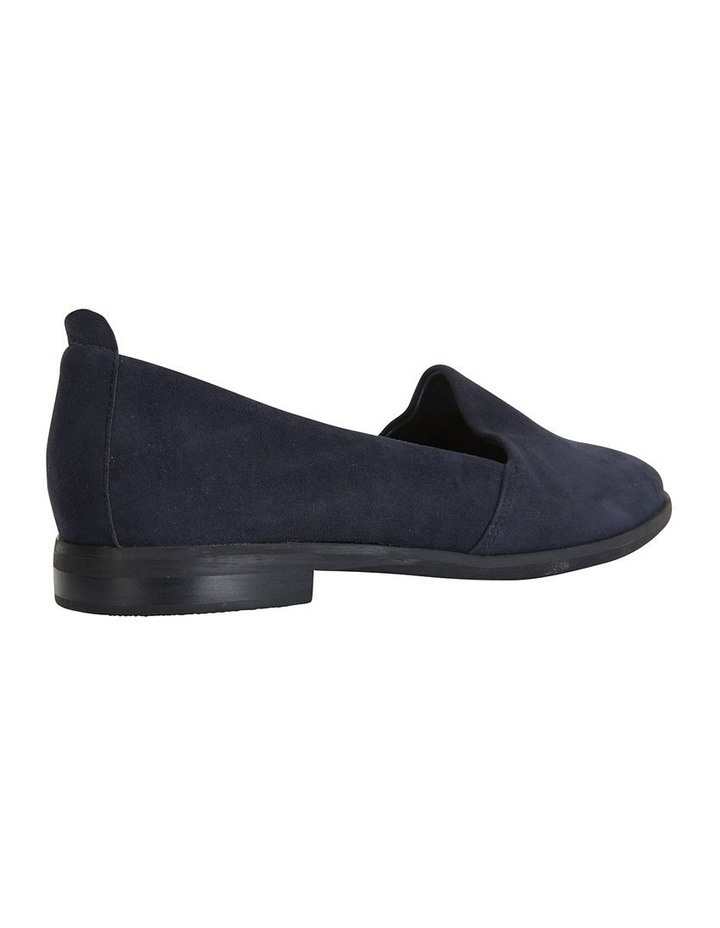 Kelly Navy Suede Flat Shoes image 4