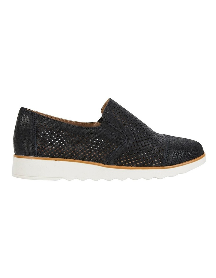 Davis Black Combo Flat Shoes image 1