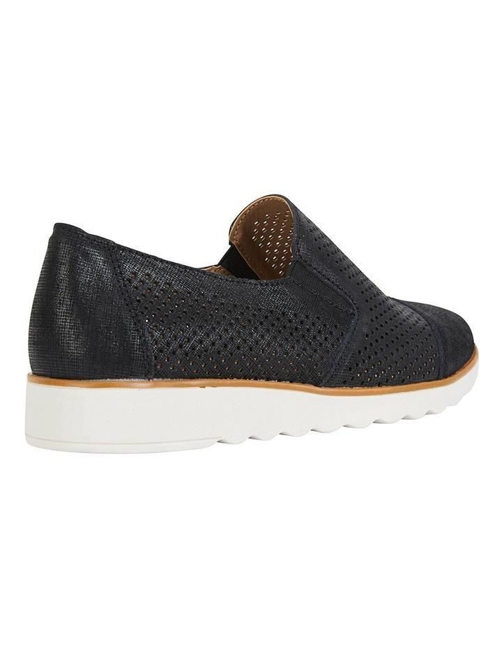 Davis Black Combo Flat Shoes image 4