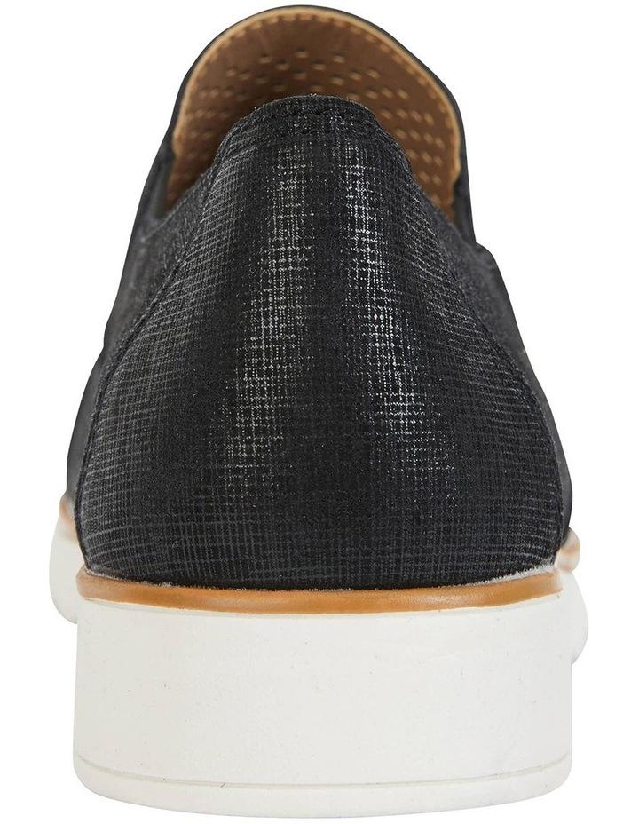 Davis Black Combo Flat Shoes image 6