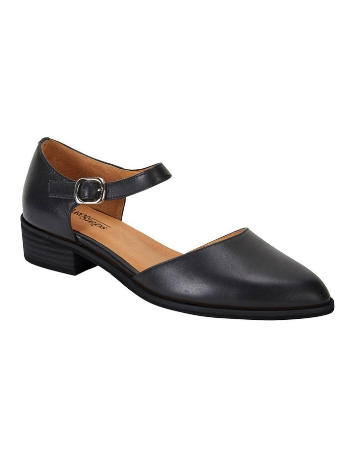 Jesinta Black Glove Flat Shoes image 1