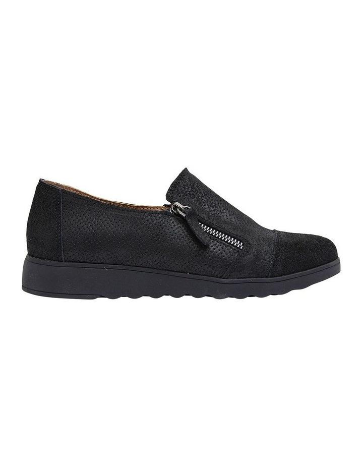 Dean Black Combo Flat Shoes image 1