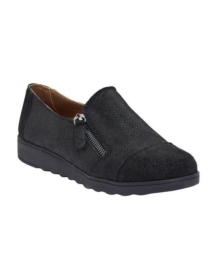 Dean Black Combo Flat Shoes image 2