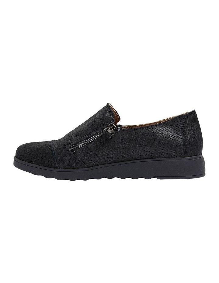 Dean Black Combo Flat Shoes image 3