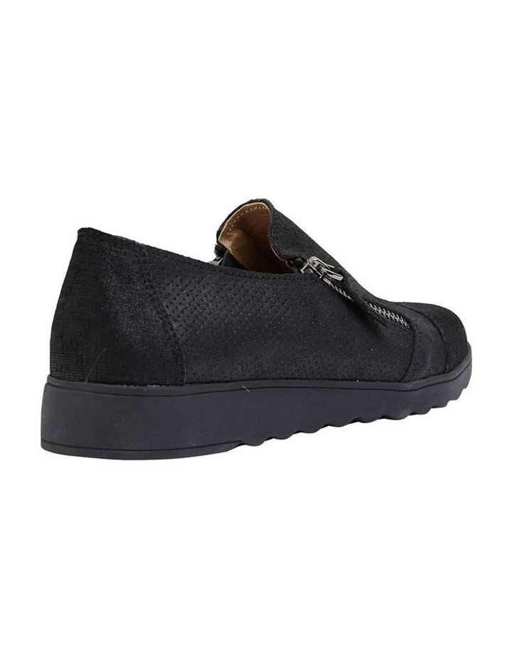 Dean Black Combo Flat Shoes image 4