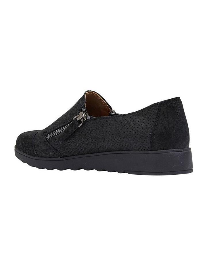 Dean Black Combo Flat Shoes image 5
